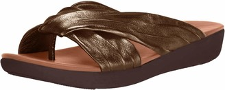 FitFlop Women's Toe-Thongs Wedge Sandal