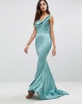 Jarlo Electra Cowel Front Maxi Dress