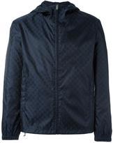 Gucci GG Supreme hooded jacket - men - Polyamide/Polyester - 46