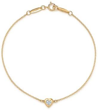 Tiffany & Co. Elsa Peretti Diamonds by the Yard heart bracelet in 18k gold