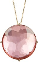 Suzanne Kalan 14K Rose Gold Opal Pendant Necklace
