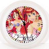 "Ikea New Little Mermaid Ariel Wall Clock 10"" Will Be Nice Gift and Room Wall Decor W79"