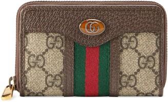 Gucci Ophidia GG zip around card case