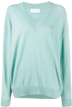 Christian Wijnants Fine Knit V-Neck Sweater