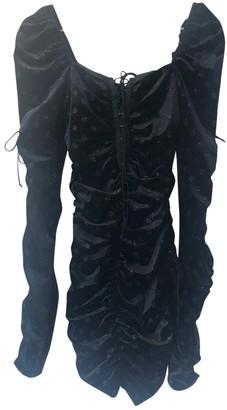 For Love & Lemons Black Velvet Dresses
