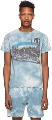 Remi Relief Blue Tie-Dye Animal T-Shirt