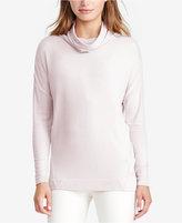 Lauren Ralph Lauren Cowl-Neck Jersey Sweater