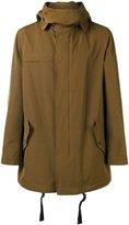 Lanvin technical hooded parka - men - Rayon/Cotton - 50