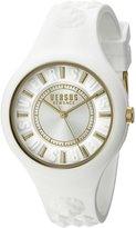 Versus By Versace Women's SOQ040015 Fire Island Analog Display Quartz White Watch