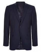 Jaeger Wool Navy Slim Jacket