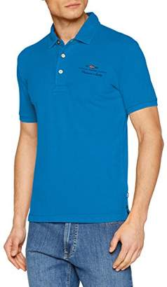 Napapijri Men's N0YHDVR89 Polo Shirt, (Yellow Ya1)
