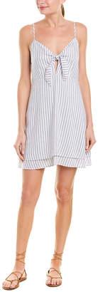 Rails August Linen-Blend Shift Dress