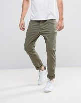 Esprit Cargo Trouser With Multi Pockets In Slim Fit