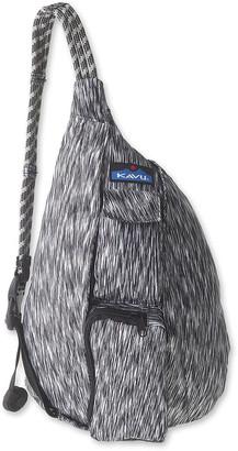 Kavu Women's Backpacks Zebra - Zebra Mini Ropercise Sling Backpack