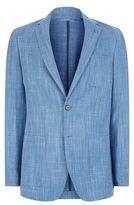 Michael Kors Textured Woollen Linen Blazer