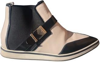 Nicholas Kirkwood White Leather Boots