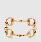 Gucci Horsebit Bracelet In Yellow Gold