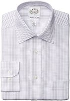 Eagle Men's Regular Fit Non Iron Grid Check