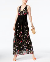 INC International Concepts Embroidered Maxi Dress, Created For Macy's