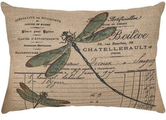 Yardley London Ophelia & Co. Dragonfly Lumbar Pillow Ophelia & Co.