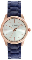 Ted Baker Women&s Classic Charm Bracelet Watch