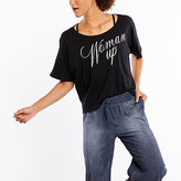 Lucy Dream On Graphic Tee - Woman Up Script