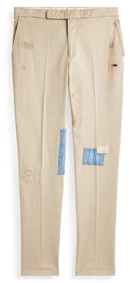 Ralph Lauren Distressed Chino Suit Trouser