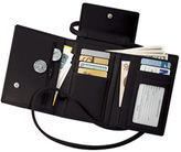Royce Leather Deluxe Passport Case W/Removable Strap 220-5