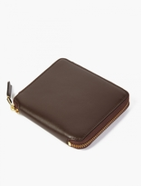 Comme des Garcons Brown Classic Leather Wallet