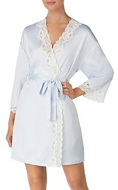 Ralph Lauren Signature Collection Satin Wrap Robe