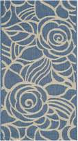 """Safavieh Courtyard Collection CY5141C and Beige Indoor/ Outdoor Area Rug, 2 feet by 3 feet 7 inches (2' x 3'7"""")"""