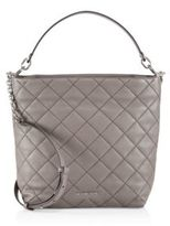 MICHAEL Michael Kors Quilted Large North South Leather Shoulder Bag