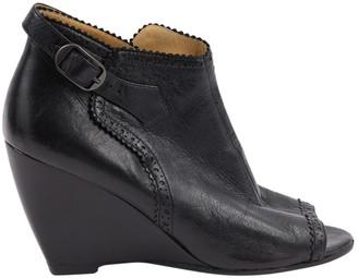 Balenciaga Black Leather Heels