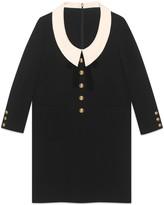 Gucci Silk wool dress