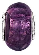 Jo for Girls Shimmery Purple Murano Glass Bead