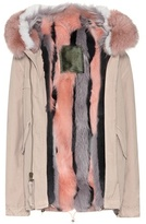 Mr & Mrs Italy Fur-lined cotton coat