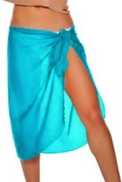 Luxury Divas Sarong Knee Length Georgette Beach Wrap