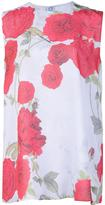 Giambattista Valli floral print top - women - Silk - 44