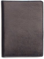 Shinola Leather Passport Holder