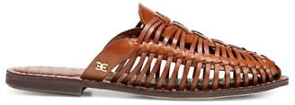 Sam Edelman Pacific Northwest Keelyn Woven Leather Mules