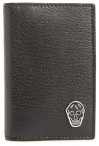 Alexander McQueen Men's Skull Pocket Organizer - Black