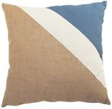 A&B Home 20 x 20 Burlap Stripe Pillow