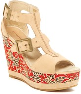 Blackstone Batik Wedge Sandal