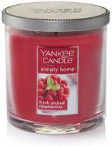 Yankee Candle simply home Fresh Picked Raspberries 7-oz. Candle Jar