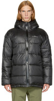 Perks And Mini Reversible Black First Contact Puffer Jacket