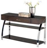 Progressive Showplace Console Table - Cappuccino Oak Furniture