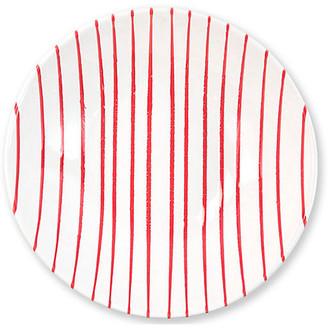 Vietri Stripe Serving Bowl - Red