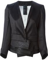 Haider Ackermann layered fitted blazer