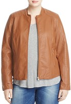 Junarose Prisma Faux Leather Moto Jacket