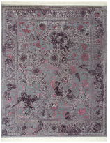 Vermac Hand-Knotted Wool & Silk Rug